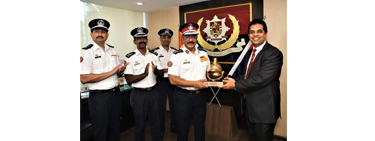Recognition of the Fire Brigade of Maharashtra (India)