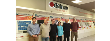 Our Serbian partner visit Detnov