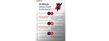 Hey installer, Detnov Cloud to the rescue!